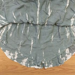 Promesa Other - [Promesa] NWT Tie Dye Blue White Onesie Dress S